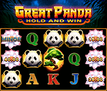 Great Panda: Hold and Win